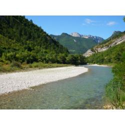 Arrivée Rivière Drôme