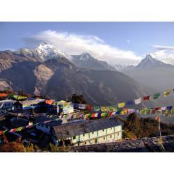 Arrivée Népal
