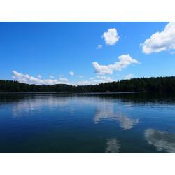 Arrivée Lac Vert (Québec)
