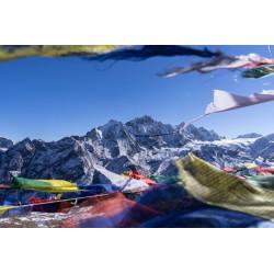 Magnifique poster de la vallée du Langtang
